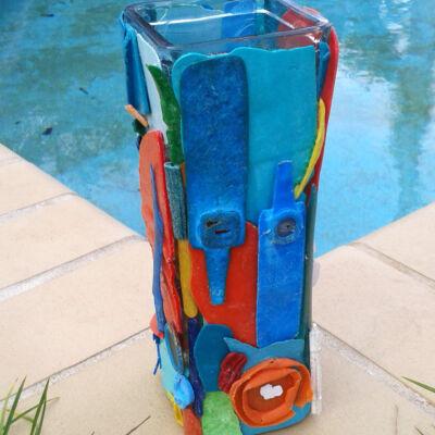 Plastic kunst Glaswerk