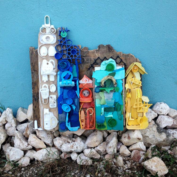 Plastic kunst Handelskade